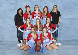 SHS JV BKB Red Cheer 2017 18