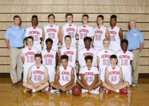 SHS JV Boys BKB Team 2017 18