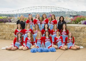 2017 Junior Varsity Cheer Team