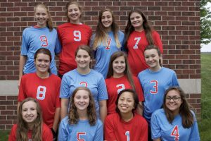 2017 Sophomore Volleyball Team
