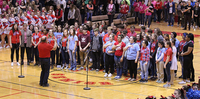 Choir at Assembly
